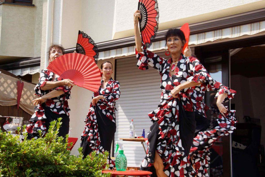 Flamenco Tänzerinnen aus Marimas Tanztempel in Schlebusch